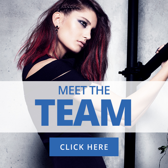 Meet the team - Blue Hairdressing