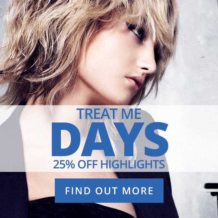 Treat Me Days - Blue Hairdressing