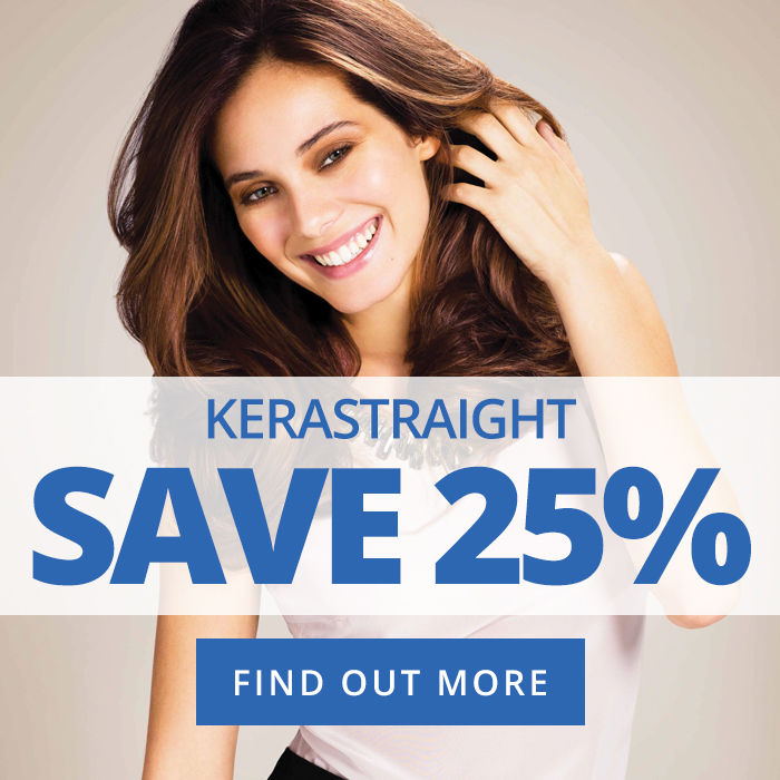 KeraStraight Save 25% Blue Hair